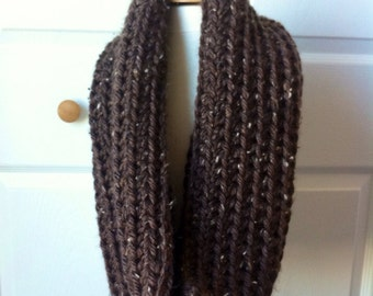 Crochet chunky cowl neck warmer