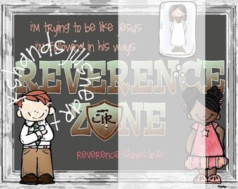 Reverence Zone for LDS Primary