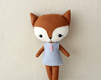 Pocket Fox pdf Pattern - Instant Download