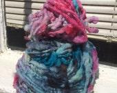 Happy Happy HandSpun and Hand Dyed Yarn