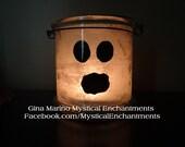 Halloween Lantern Luminary Ghost