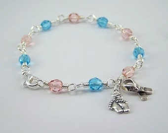 Sudden Infant Death Syndrome SIDS Awareness Bracelet