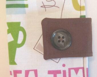 Tea, Tea, and More Tea Tea Bag Wallet