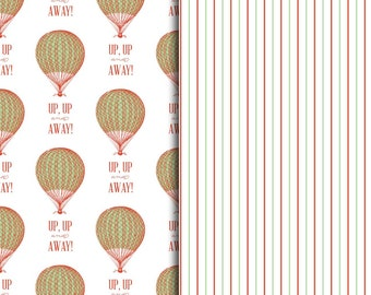 Up Up and Away Pattern Sheets