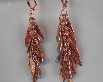 Earrings-handmade dangle earrings
