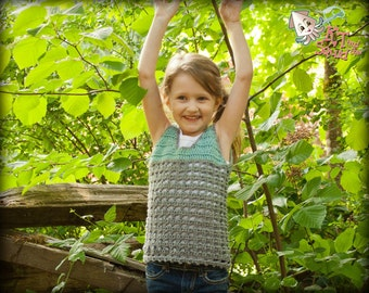 Crochet pattern, crochet tank pattern, summer, spring, permission to sell, crochet tank top, crochet, girls top pattern, easy