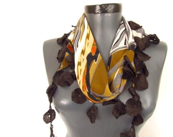 chiffon women  scarf - woman green scarves - women chic scarf - green long scarf - wholesale scarf