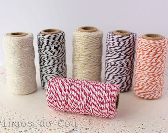 Baker's Twine, Hot Pink , 22 Yards, 20 meters. For your crafting projects. Ready to ship.
