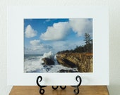 CLOSEOUT SALE - Spring Surf - Oregon Coast fine art matted photograph 11x14