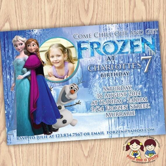 Frozen birthday party invitation frozen birthday party frozen il570xn filmwisefo