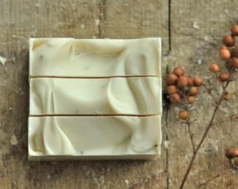 Earthsong Sandalwood  Soap -   Vegan Soap - Shea Butter Soap SHIPS 7/3/17