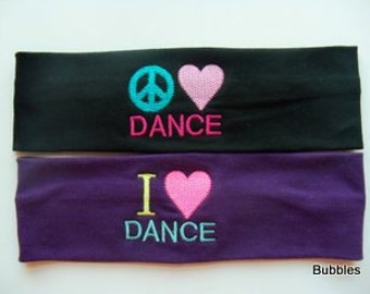 DANCE cotton stretch headband  gymnastics