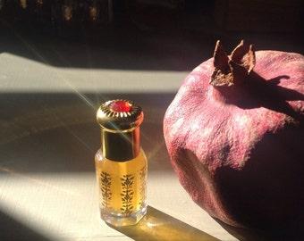 Melangell of the Hares medieval-inspired botanical perfume 1 ml sample  - Spring 2014 Sainted Scent