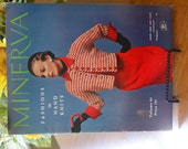 Vintage Minerva Fashions in Hand Knits Pattern Book 1950