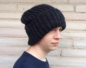 """The """"Springsteen"""" Men's Chunky Knit Hat"""