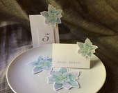 Succulent Wedding Decorations Paper Goods Place Cards Escort Cards - Use for wedding Events dinner parties