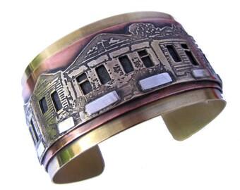 Shotgun House Cuff Bracelet