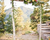 Three Piece Wedding Arch with Boxes