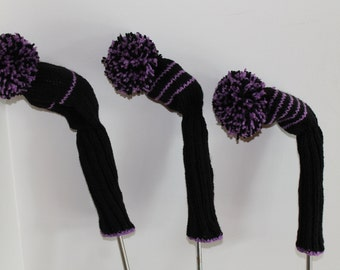 KNITTING GOLF CLUB COVERS Free Knitting Projects