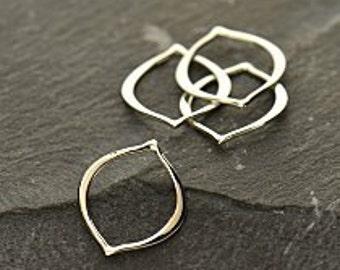 Sterling Silver Small Arabesque Link (2PK)