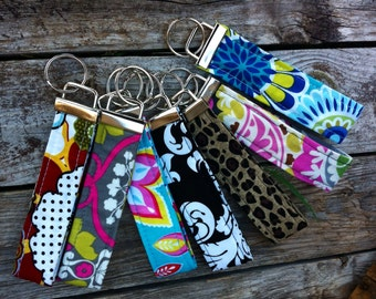 Wristlet Keychain 200 fabric choices
