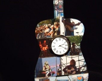 WXPN Music festival Guitar Clock