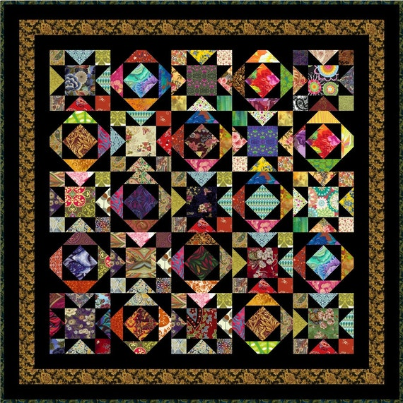Watusi 53 Quot Quilt Addicts Pre Cut Quilt Kit Or Finished
