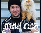 SIGNED copy of Metal Cats Book