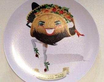 Bearded Taco plate
