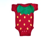 Strawberry Kids Costume, Food Bodysuit Halloween Costume