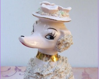 Popular Items For Poodle Figurines On Etsy