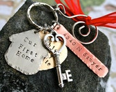 Our New Home/Our First Home - Hand Forged - Key to our home - Ornament
