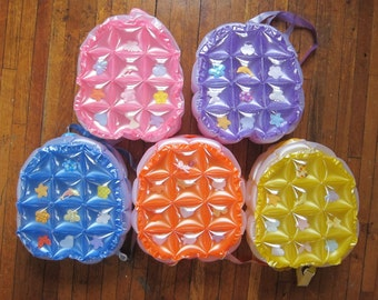 Buy One Get One Free!!! - 90s Kawaii Vintage Inflatable Bubble PVC Backpack