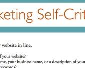 Marketing Self-Critique for Artists