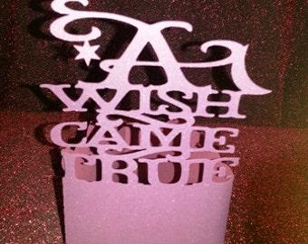 A wish came true centerpiece