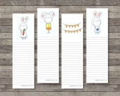 Easter Bookmark Notes . Digital Collection . Mayi Carles