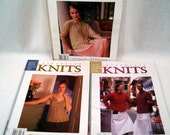 Interweave Knits Spring Summer and Fall 2003 lot of 3 knitting magazines