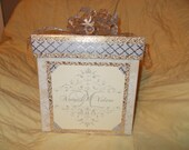 Custom wedding card boxes