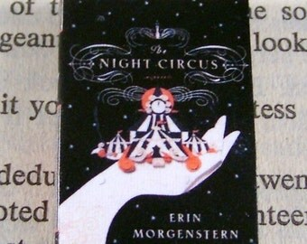 Miniature Classic Novels Book Necklace Charm The Night Circus