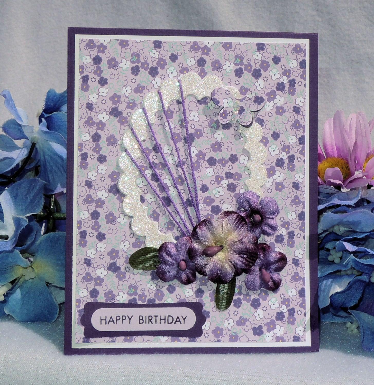 happy birthday card elegant handmade