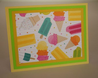 Ice Cream and Popsicles Stationery (4)
