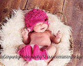 Baby Girl Rosette Cloche baby newsboy with rosette pinback brim - weave look, solid color newborn infant toddler child adult