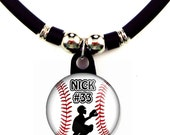 Personalized Baseball Catcher Necklace with Your Name, The Perfect Gift