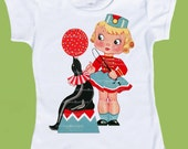Vintage Circus Shirt Seal and Trainer, Girls Circus Shirt, Baby Girls Circus One Piece,Vintage Circus Birthday by ChiTownBoutique.etsy
