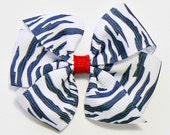 Hair Bow Small Little Girls Hair Accessories Zebra Stripes Animal Print Hair Bow Kids Boutique Fashion Hair Clip Hairbow