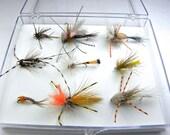 9 new school trout flies
