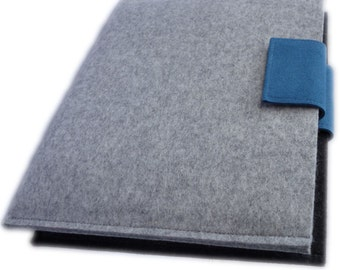 iPad Pro 10.5 Case, iPad Pro 10.5 cover, Wool Felt made in Germany with Ultrasuede Tab optional fit for Smart Cover/Keyboard Case Case