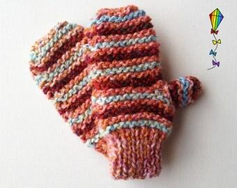 Seashell Pixie Mittens - Children's Mitten / Childs' Glove / Kids' Mittens