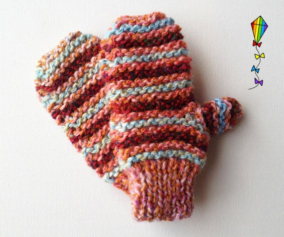 Seashell Pixie Mittens - Children's Mitten / Childs' Glove / Kids' Mittens