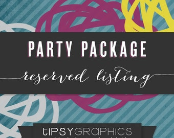 Top Gun Theme Birthday Party Package by Tipsy Graphics.